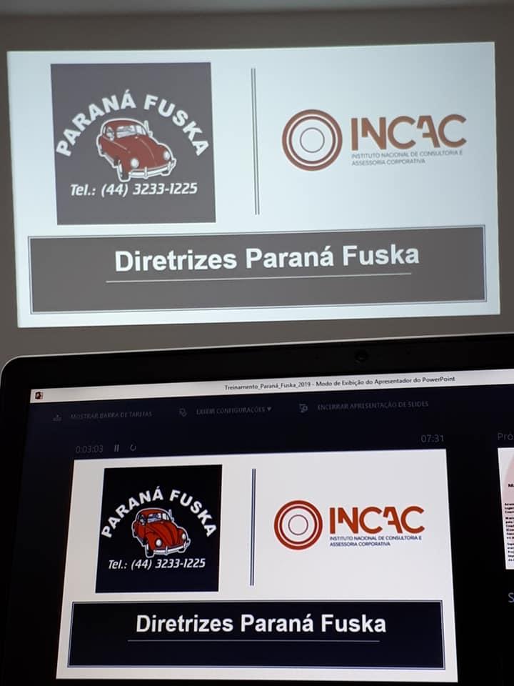 Treinamento Diretrizes Organizacionais - Paraná Fuska